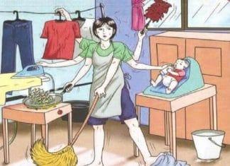 I compiti della casalinga