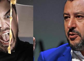 Chef Rubio e Matteo Salvini