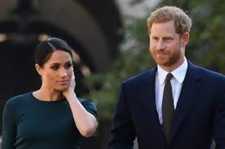 Grande paura per il Principe Harry e Meghan: un fulmine colpisce il loro aereo privato