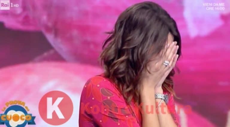 'Si sta dissanguando…' Paura per Elisa Isoardi incidente in diretta a La Prova del cuoco