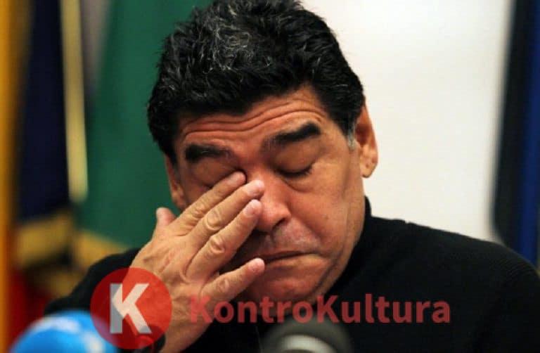 Diego Armando Maradona ricoverato d'urgenza in ospedale per un'emorragia: ecco le sue condizioni