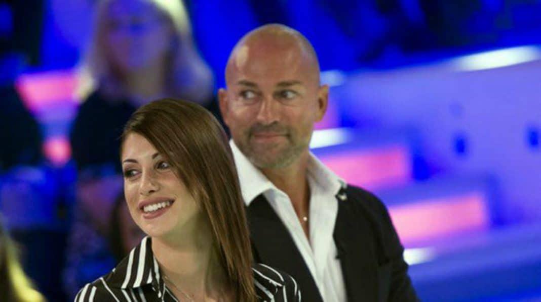 Simona Ventura, Stefano Bettarini e la fidanzata Nicoletta: