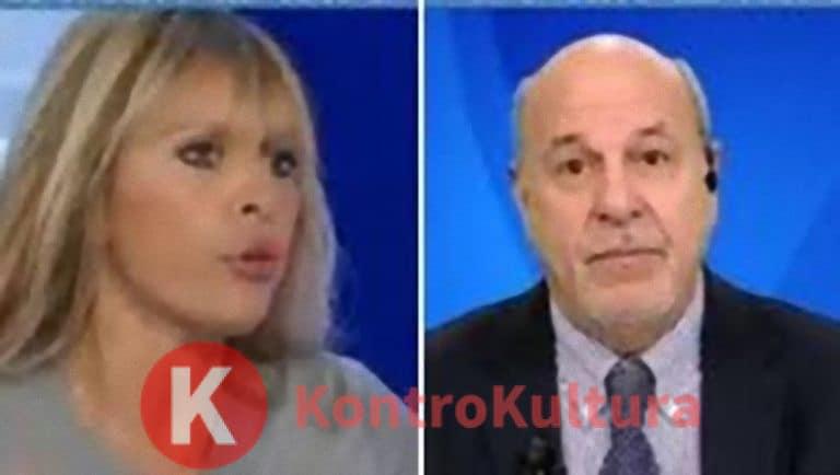 Lite furiosa tra Alessandra Mussolini e Friedman: 'Povero stron*o tornatene in America' (Video)
