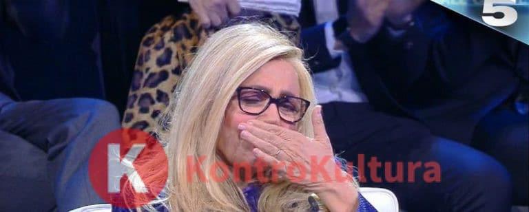 Mara Venier scoppia a piangere in diretta e lascia lo studio: Giampiero Galeazzi senza parole