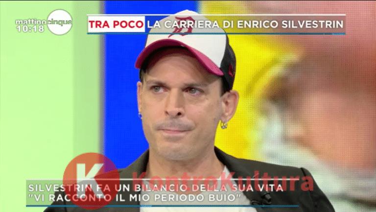 Enrico Silvestrin in lacrime a Mattino Cinque