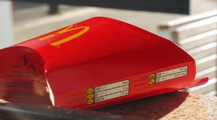 McDonald's studio schock touch screen