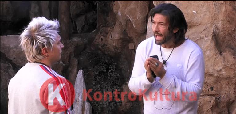 Grande Fratello Vip: sfuriata di Walter Nudo, tensione con Andrea Mainardi