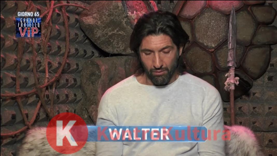 Gf Vip a luci rosse, Walter Nudo confessa: