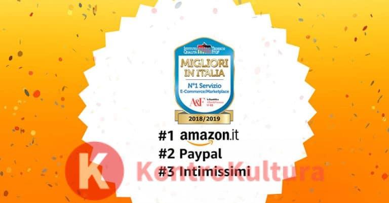 """Amazon regala 10 euro: """"per ringraziare gli Italiani"""""""