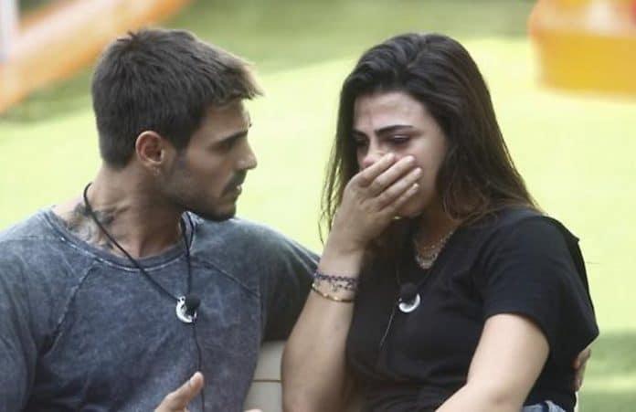Francesco Monte e Giulia Salemi litigano