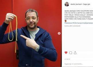 Melevisione, Tonio Cartonio gela i fan: ecco cosa ha fatto con lo spago giallo