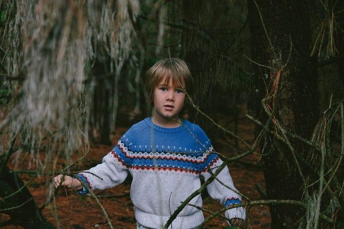 Bambino si perde nel bosco a meno venti gradi