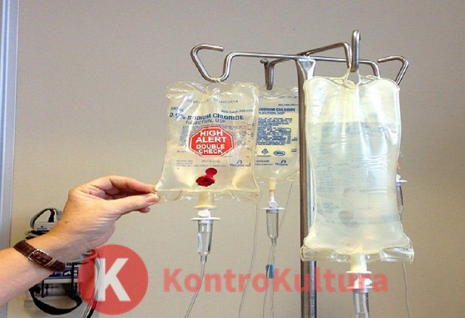 Una spugna nel sangue per ripulirlo dai farmaci chemioterapici