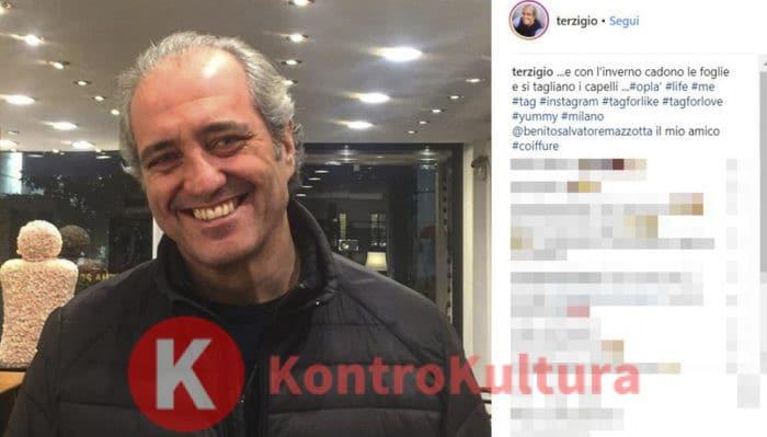 Bettarini su Simona Ventura e la rottura con Carraro: