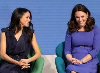 Meghan Markle e Kate Middleton ridono a un evento
