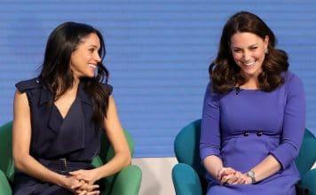 Kate e Meghan ridono