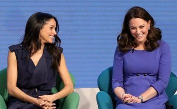 Meghan Markle e Kate Middleton ridono a un evento