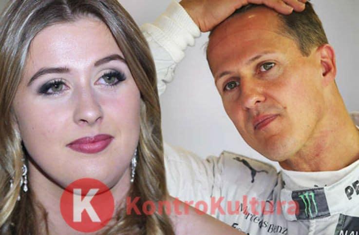 Michael Schumacher, la figlia Gina Maria rompe il silenzio: 'Mio padre è…