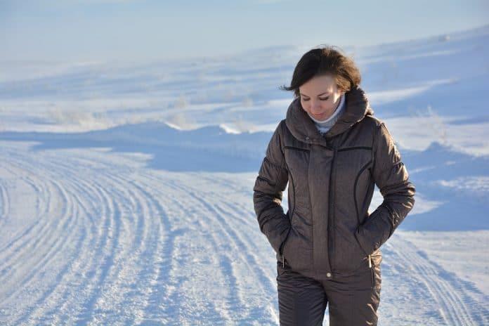Camminare di inverno i benefici per la salute