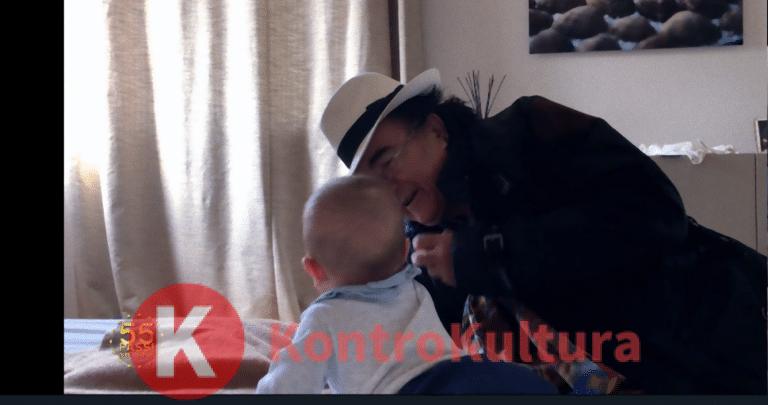 Al Bano e Cristel Carrisi mostrano per la prima volta il piccolo Kay (Video)
