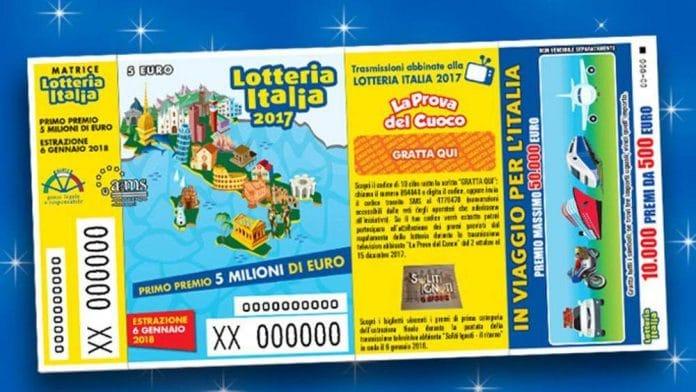 Lotteria Italia 2019, ecco i codici dei biglietti vincenti e i premi: 3 milionari in Campania