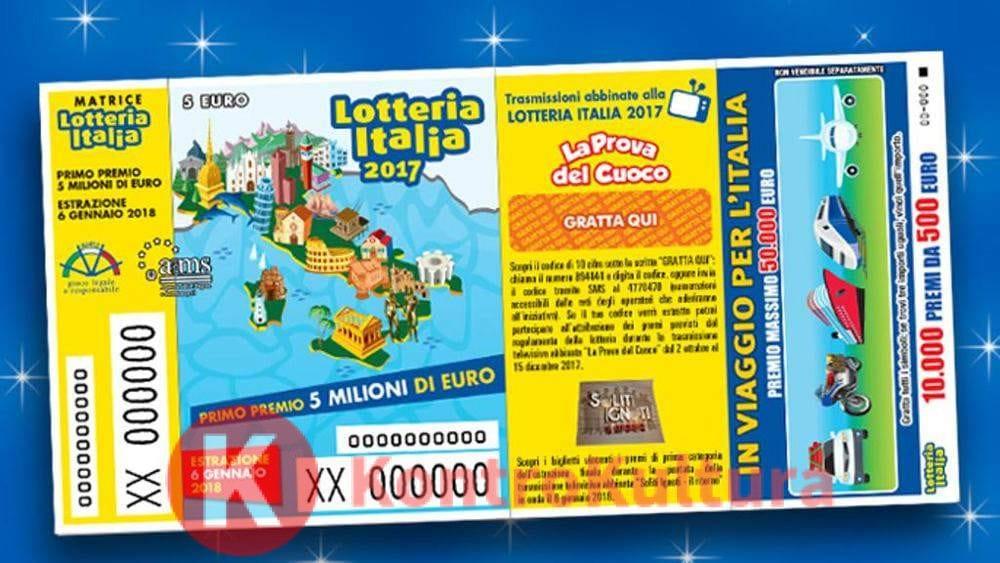lotteria italia 2019