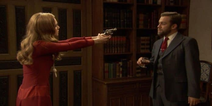 Il Segreto anticipazioni 11-12 febbraio 2019: Julieta pronta a sparare a Fernando