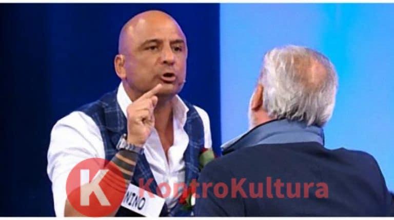 Uomini e Donne: Nino Castanotto aggredisce Stefania Petyx di Striscia la Notizia