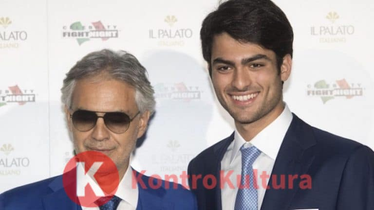"""""""Solo a Sanremo?"""" Il figlio di Andrea Bocelli scopre l'Ariston"""