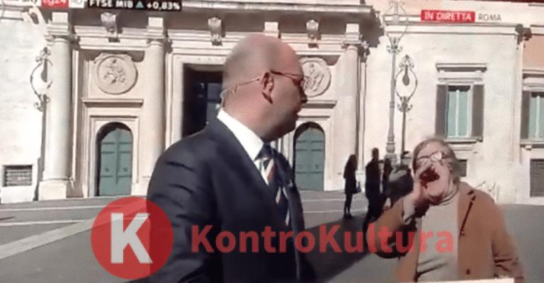 Paura a Sky TG24: passante interrompe inviato e grida 'Maledetti' (Video)