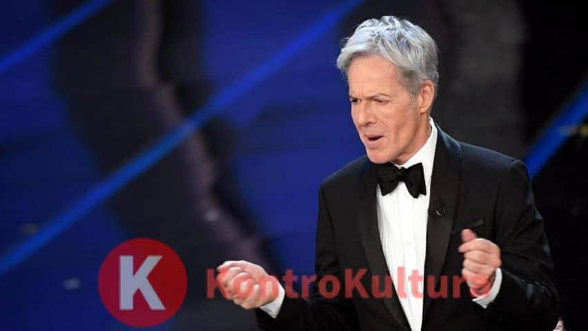 Sanremo 2019, polemiche per la battuta di Claudio Bisio sui migranti