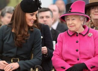 Kate Middleton - Queen Elisabetta II