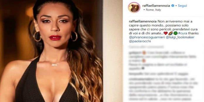 Uomini e Donne, strani messaggi di Raffaella Mennoia: fan preoccupati