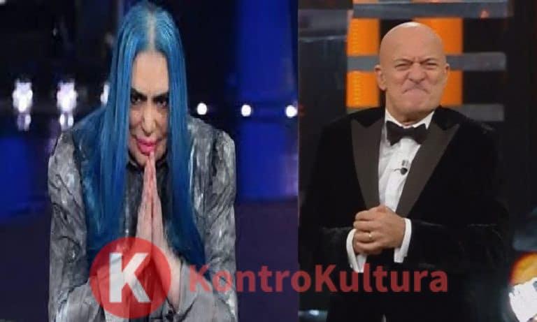 Claudio Bisio umilia Loredana Bertè: il gesto di cattivo gusto dopo Sanremo 2019
