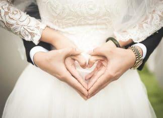 Sposi felici matrimonio geni
