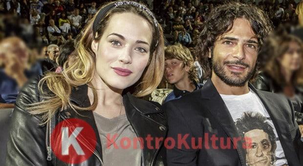 Laura Chiatti e Marco Bocci festeggiano tra gli sposi