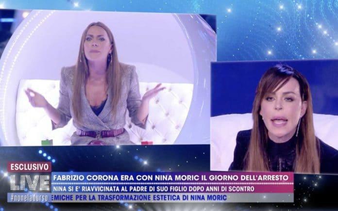 Non è la d'Urso, lite furibonda in diretta: Nina Moric asfalta Karina Cascella