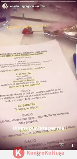 elisabetta gregoraci addio a Made In Sud