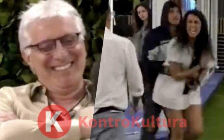 Grande Fratello 16, Valentina Vignali quasi alle mani con Alberico Lemme: 'Ci vediamo fuori, mer*a, ti spacco la testa' (Video)