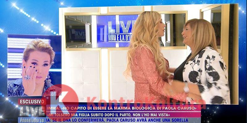 Paola caruso é la figlia biologica di Imma
