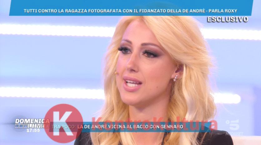GF 16, Francesca De Andrè incontra il fidanzato: web in rivolta