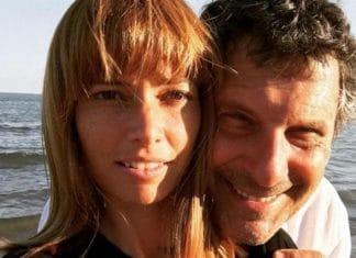 Carlotta Mantovan e Fabrizio Frizzi