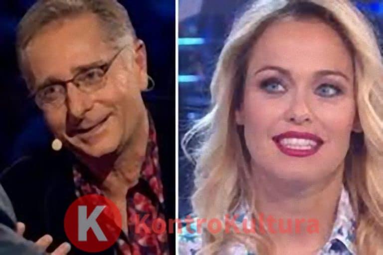 Paolo Bonolis e la moglie Sonia Bruganelli 'litigano' a poche ore da Ciao Darwin 8: 'Lui lavora meno di me e…' (Video)