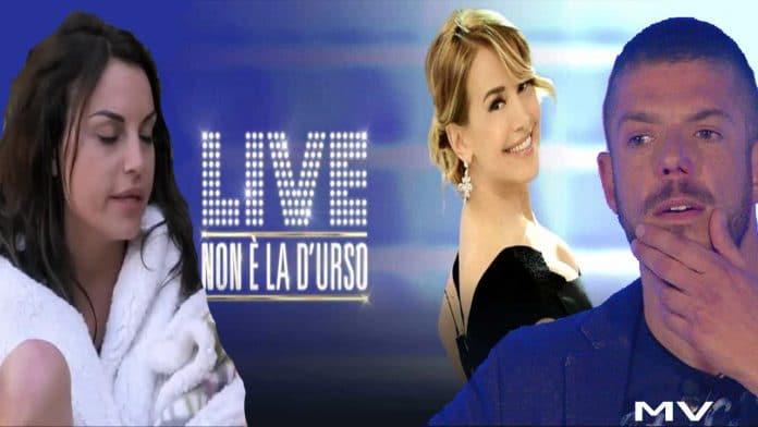 Live - Non è la D'Urso: Francesca De Andrè show, Barbara criticata e insultata