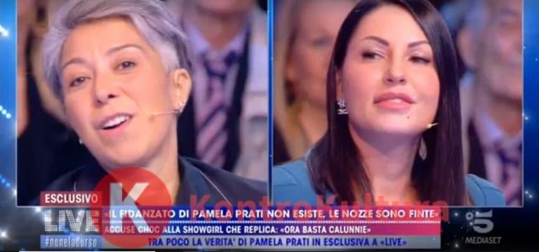 Pamela Perricciolo è fuggita in Francia per un lutto, Eliana Michelazzo sbotta: 'Sei una malata mentale e…' (Video)
