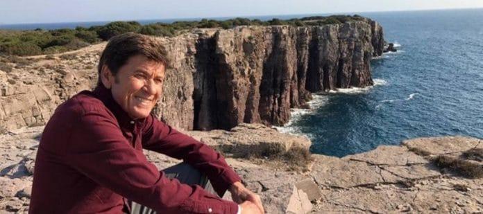 Gianni Morandi, incidente sul set de L'Isola di Pietro 3: ecco cosa è successo