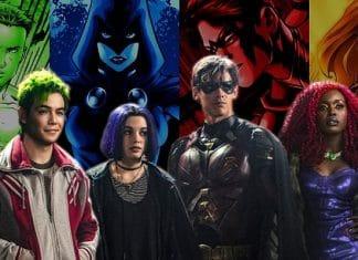 Titans: una nuova immagine sponsorizzante Batman e Robin