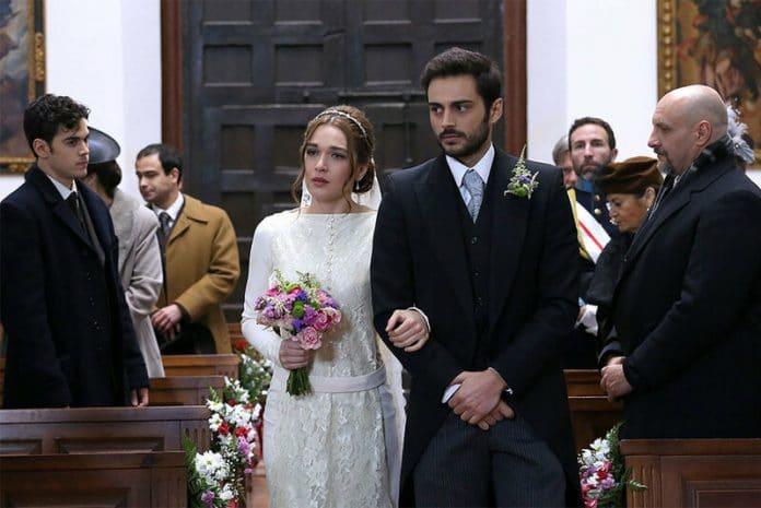 Il Segreto anticipazioni 17-18-19 luglio 2019: Saul e Julieta sposi ma...