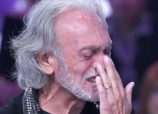 Riccardo Fogli piange a Verissimo