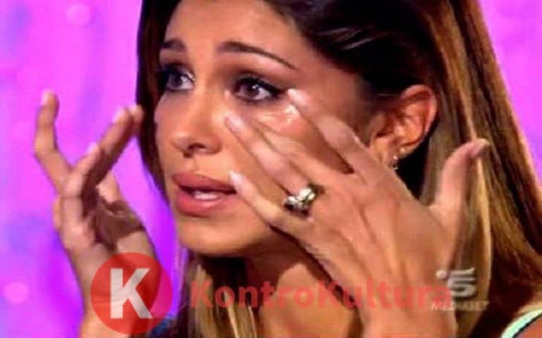 """Belen Rodriguez il dramma a Verissimo: """"Io e Antonino abbiamo perso un bambino"""""""